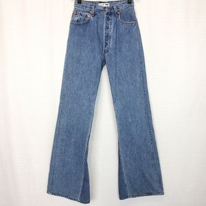 Re/Done X Levi's High Rise Bell Bottom Jean 23X32